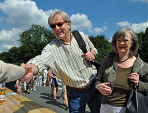 Michael Townsend und Ottilie Scholz