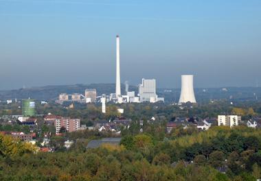 Steag-Kraftwerk in Herne