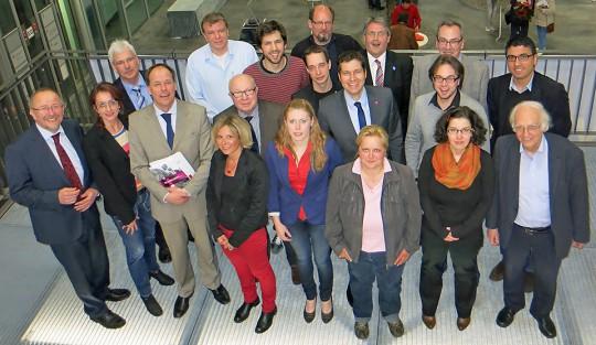 Vorstand der SPD Bochum gewählt am 29.4.2013