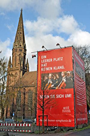 Die katholische Kirche wollte ihre Marienkirche an der Viktoriastraße abreißen. Nun kann sie als Teil eines Musikzentrums erhalten bleiben.