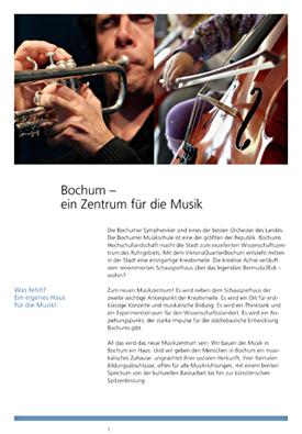 Konzept Musikzentrum Bochum