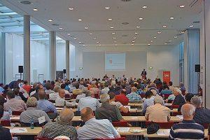 Impression eines Parteitages der SPD Bochum