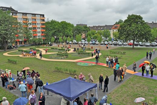 Bochum: Der neue Generationenplatz im Griesenbruch