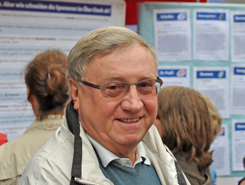Dieter Fleskes, Vorsitzender der SPD-Ratsfraktion.