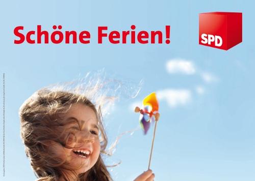 Die SPD Bochum wünscht schöne Ferien!