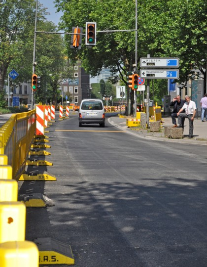 Erneuerung der Wittener Strasse in Bochum
