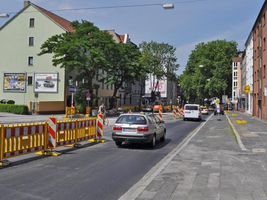 Erneuerung der Wittener Strasse in Bochum 2