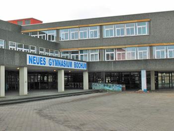 Das Neue Gymnasium Bochum ist vorübergehend im alten Gebäude der Erich-Kästner-Schule an der Markstraße untergebracht.