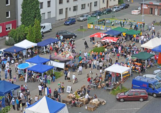 5. Westendfest auf dem Springerplatz im Griesenbruch