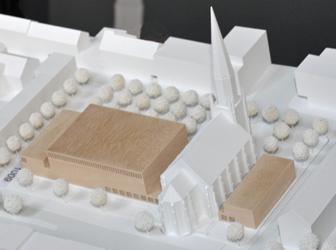 Der Sieger-Entwurf von Bez + Kock Architekten (Stuttgart)