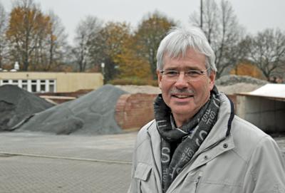 Peter Reinirkens, hier Mitte November bei einer Besichtigungsfahrt von Standorten des technischen Betriebs in Bochum.