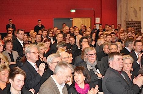 Neujahrsempfang der SPD im Dampfgebläsehaus.