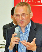 Prof. Dr. Helmut Karl vom Ruhr-Forschungsinstitut für Innovations- und Strukturpolitik (RUFIS)