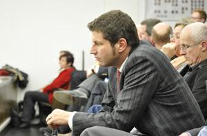 Auf der Tribüne verfolgte der Bochumer Landtagsabgeordnete Thomas Eiskirch die Aussprache zu Opel. Eiskirch ist auch wirtschaftspolitischer Sprecher der SPD-Landtagsfraktion.