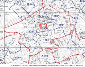 Ehrenfeld (Wahlbezirk 13) - Zum Vergrößern bitte anklicken (pdf)