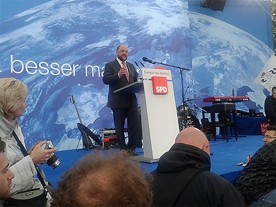 Martin Schulz ⎪Foto: Jürgen Mittag