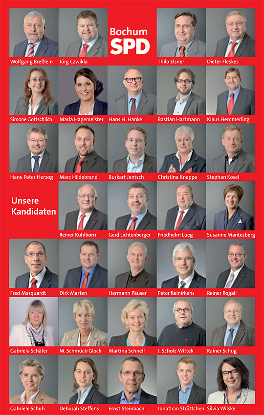 Unsere Ratskandidaten