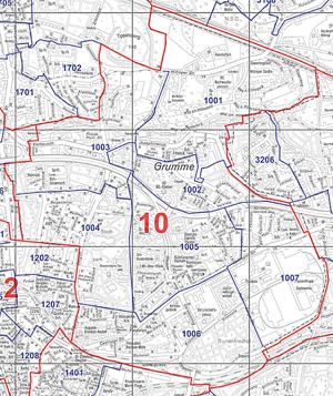Grumme (Wahlbezirk 10) - Zum Vergrößern bitte anklicken (pdf)