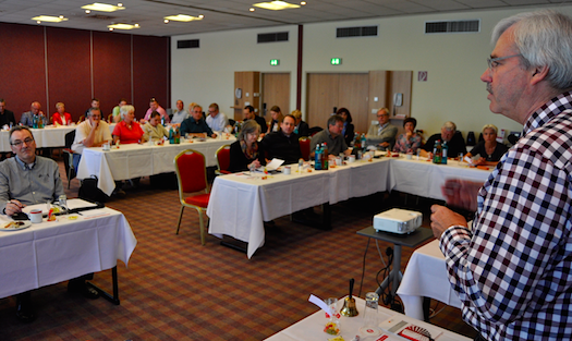 Klausurtagung der SPD-Ratsfraktion Bochum. Rechts: Fraktionsvorsitzender Dr. Peter Reinirkens