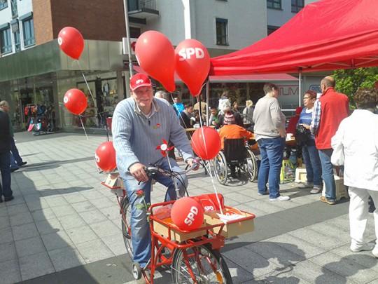 """""""Lange bevor es grüne Fahrräder gab, hatten wir schon """"Rote"""""""""""