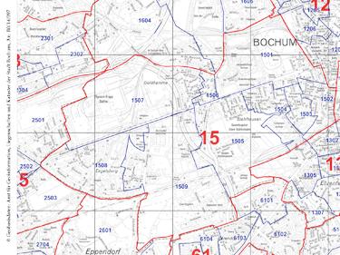 Wahlbezirk 15 - Innenstadt-West