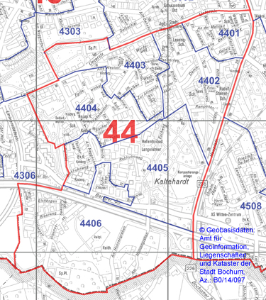 Wahlbezirk 44 - Langendreer-West - Zum Vergrößern bitte anklicken (pdf)