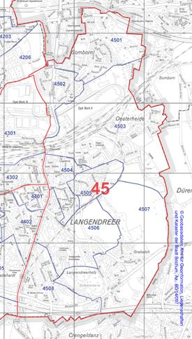 Wahlbezirk 45 - Langendreer-Ost - Zum Vergrößern bitte anklicken (pdf)