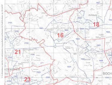 Wahlbezirk 16 Hamme / Hordel
