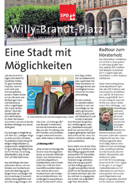 SPD-Ratsfraktion: Willy-Brandt-Platz Nr. 34
