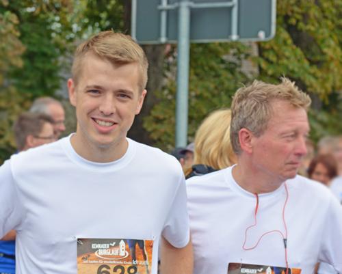 Jonathan Ströttchen (li.) und Stephan Kosel