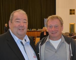 Friedhelm Lueg und Stephan Kosel