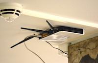 Wlan-Router im Ratssaal