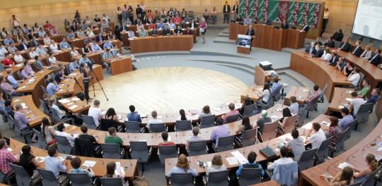 Eröffnung des Jugend- Landtags 2013