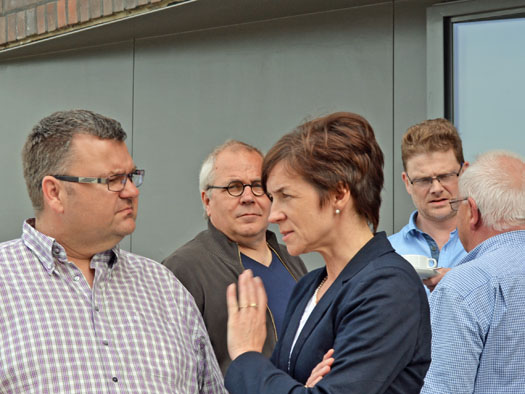 Im Bild (v.l.): Jörg Czwikla, Johannes Scholz-Wittek, Susanne Mantesberg, Dirk Meyer und Reiner Kühlborn.