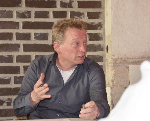 Stephan Kosel, hier in der Arbeitsgruppe Sportstättenentwicklung.