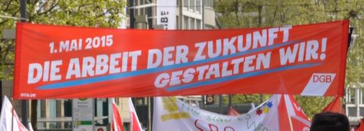 Maikundgebung 2015 in Bochum
