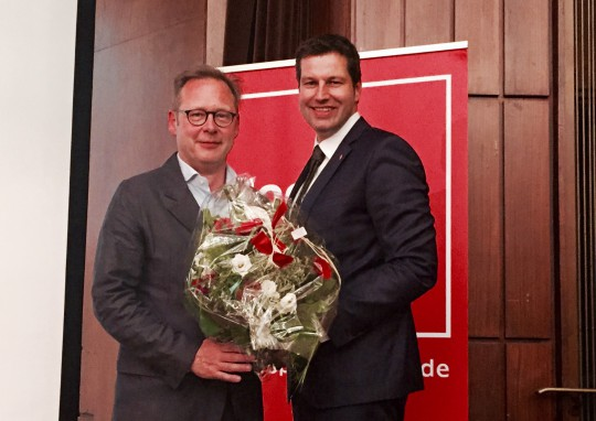 Parteitag der SPD Bochum: Karsten Rudolph und Thomas Eiskirch
