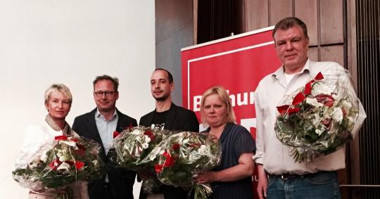 Parteitag der SPD Bochum: Verabschiedung der ehemaligen Vorstandsmitglieder