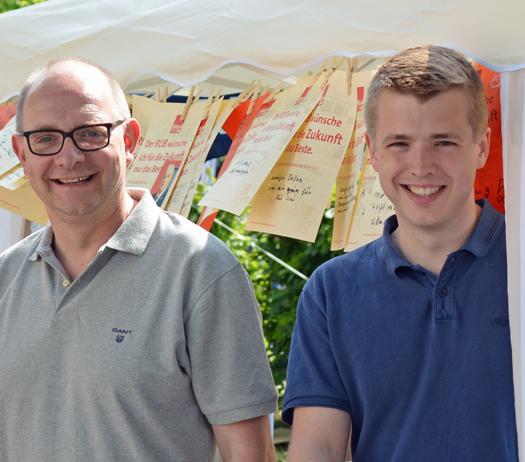 Im Bild (v.l.): André Stinka, Generalsekretär der NRWSPD, und Jonathan Ströttchen, bildungspolitischer Sprecher der SPD-Ratsfraktion Bochum