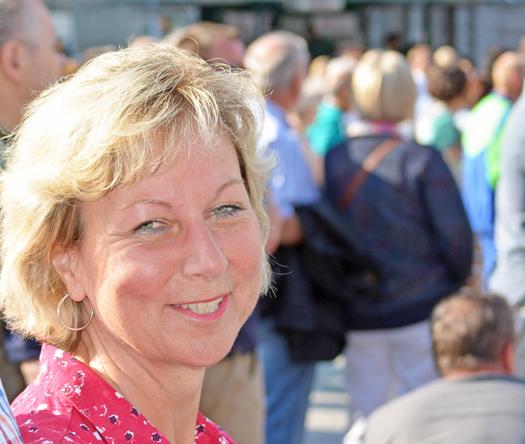 Martina Schnell, Vorsitzende des Ausschusses für Infrastruktur und Mobilität sowie Mitglied des Vorstands der SPD-Ratsfraktion Bochum