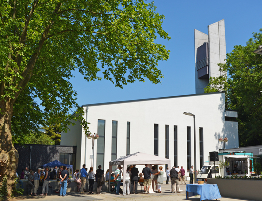 """Das Stadtteilzentrum """"Q1. Eins im Quartier - Haus für Kultur, Religion und Soziales"""""""