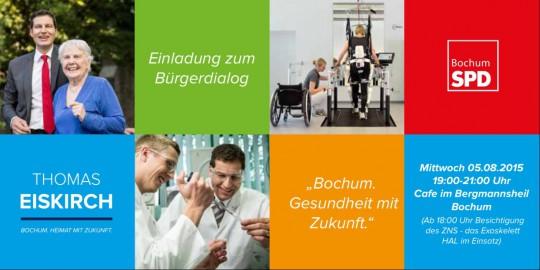 Bürgerdialog: Bochum. Gesundheit mit Zukunft.