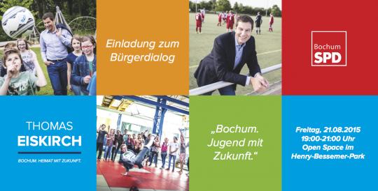 Bürgerdialog: Bochum. Jugend mit Zukunft.