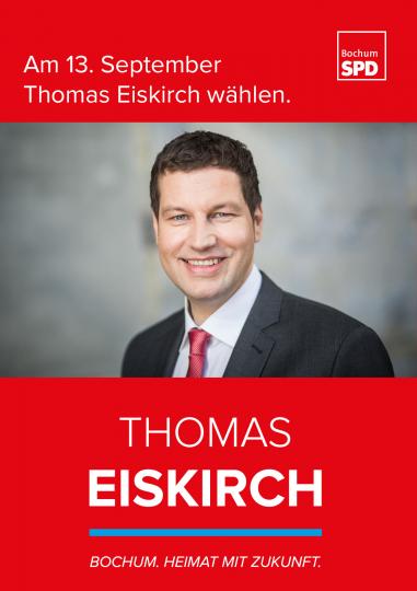 Am 13. September Thomas Eiskirch wählen.