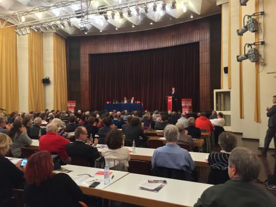 Impression vom Parteitag SPD Bochum 2