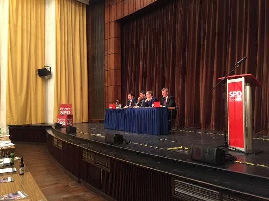 Impression vom Parteitag SPD Bochum 3