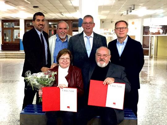 50 Jahre Mitgliedschaft in der SPD