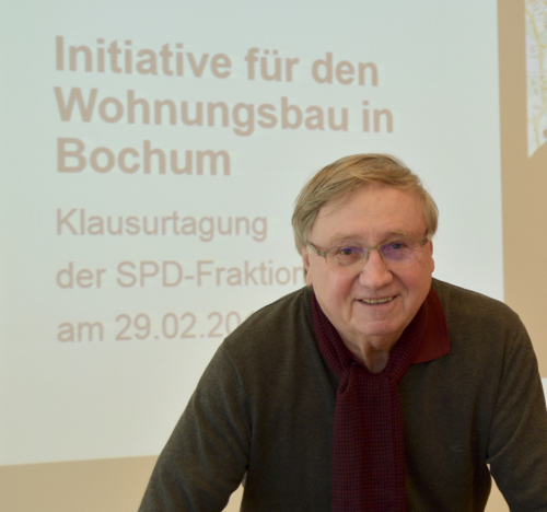 Dieter Fleskes, stellvertretender Vorsitzender der SPD-Ratsfraktion und Sprecher der SPD im Ausschuss für Planung und Grundstücke