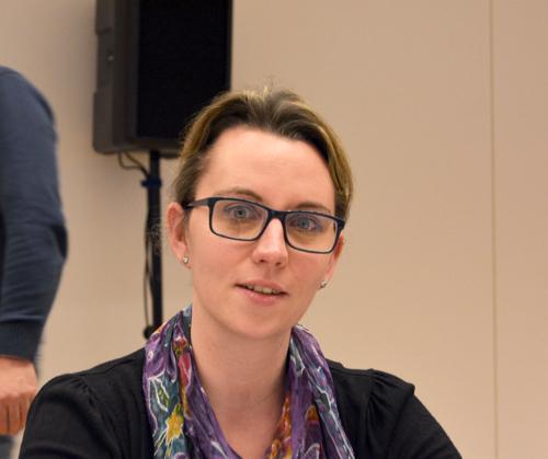 Deborah Steffens ist Mitglied des Ausschusses für Strukturentwicklung.