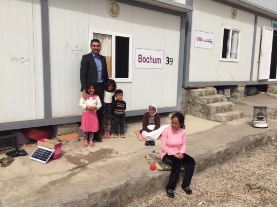 Flüchtlingsdorf im Irak mit MdL Serdar Yüksel